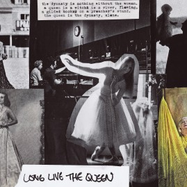 long live the queen - 8x10 print $15